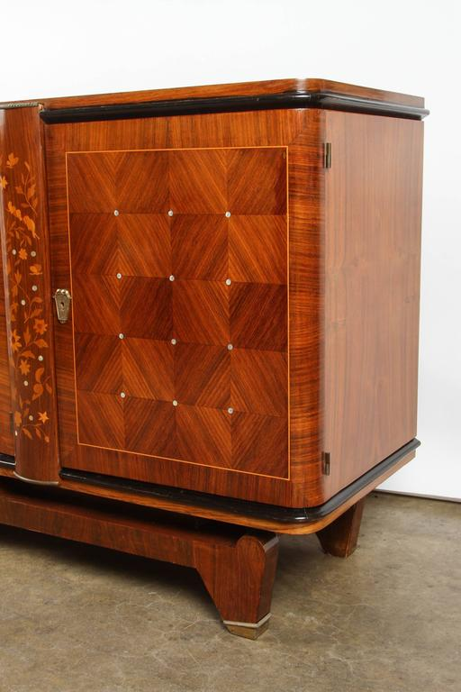 Andre Leleu Art Deco Rosewood Sideboard For Sale 2