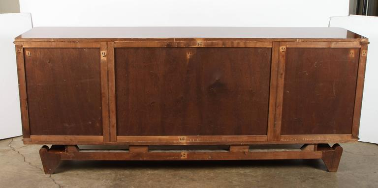 Andre Leleu Art Deco Rosewood Sideboard For Sale 4