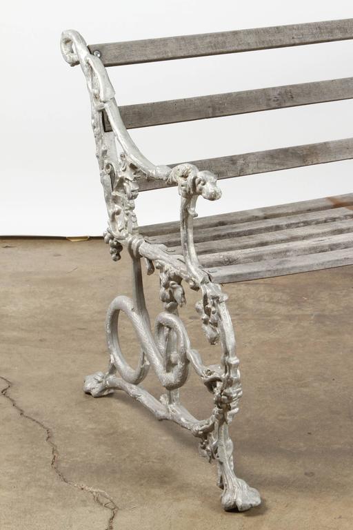 Aluminum English Garden Bench For Sale