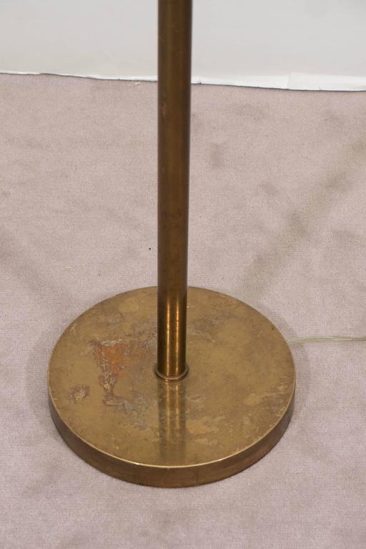 Pharmacy Floor Lamp In Brass At 1stdibs
