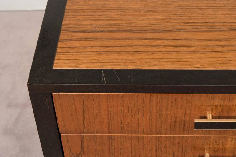 Harvey Probber Four Drawer Nightstand And Commode At 1stdibs