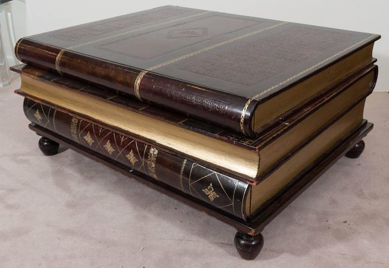 coffee table books maitland smith stacked books coffee table at 1stdibs 30678