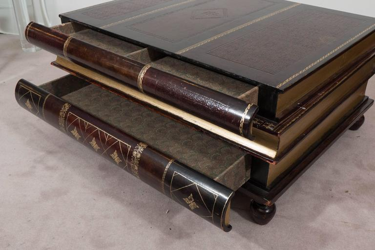 stacked book coffee table. https www 1stdibs com furniture tables