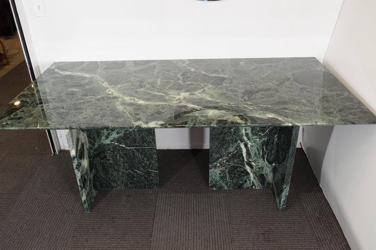 Italian Green Marble Dining and Conference Table at 1stdibs : P1930719l from www.1stdibs.com size 768 x 512 jpeg 53kB