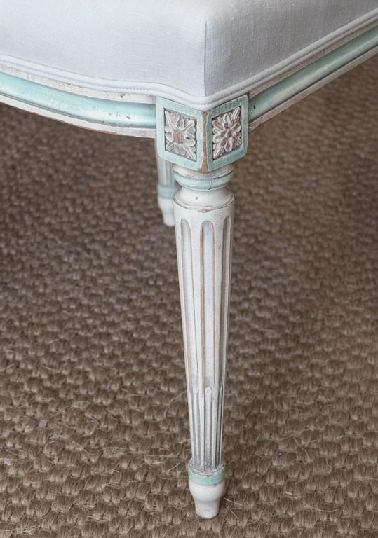 20th Century Set of Louis XVI Style Dining Chairs
