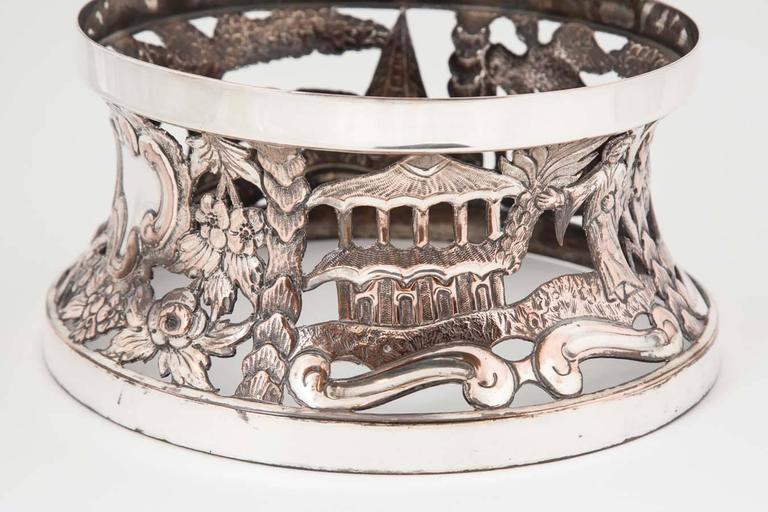 Late 18th Century Rare Georgian Irish Dish or Potato Ring For Sale