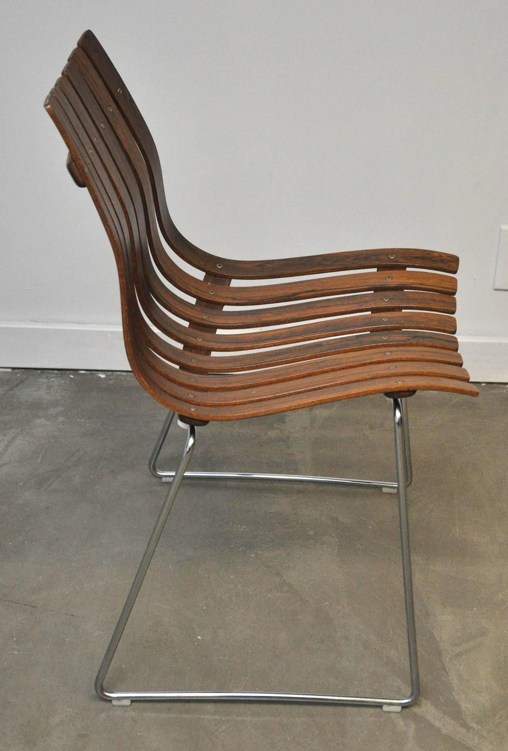 Hans Brattrud Rosewood Scandia Dining Chairs At 1stdibs
