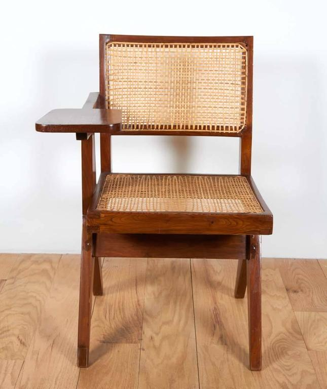 Indian Pierre Jeanneret, Chair with Single Arm For Sale