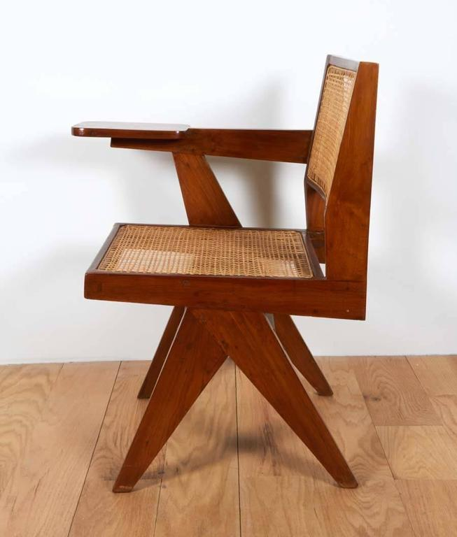 Pierre Jeanneret, Chair with Single Arm In Good Condition For Sale In New York, NY