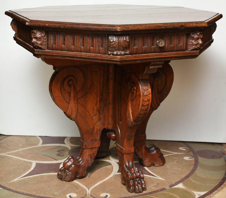 Italian Renaissance Center Table at 1stdibs