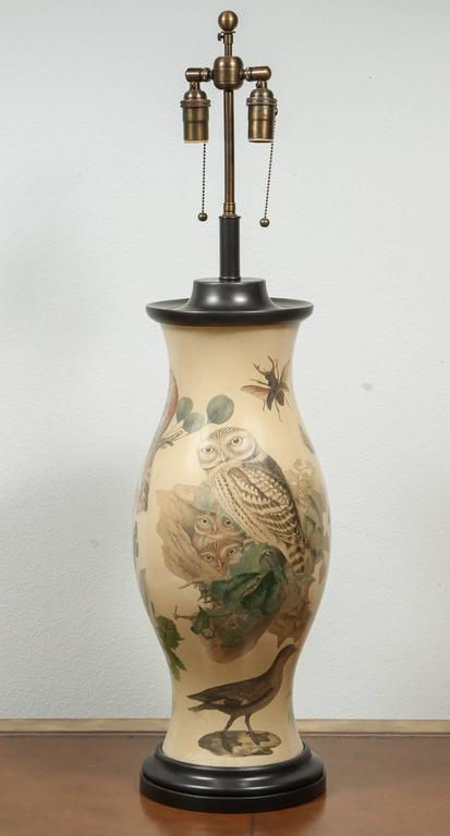 stunning pair of hurricane shaped lamps for sale at 1stdibs. Black Bedroom Furniture Sets. Home Design Ideas