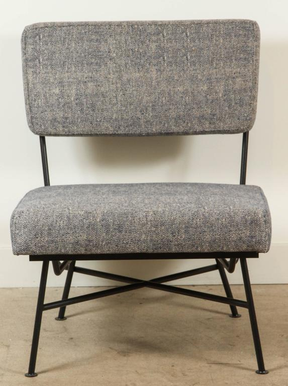 Outdoor Montrose Chair and Ottoman by Lawson-Fenning In Excellent Condition For Sale In Los Angeles, CA
