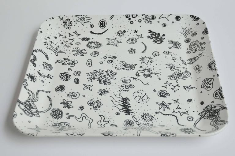 "Mid-Century Modern Mid-Century ""Sea Things"" Tray Designed by Ray Eames For Sale"