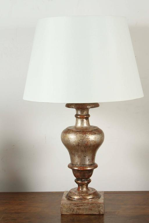 Contemporary Silver Gilded, Florentine Table Lamps For Sale