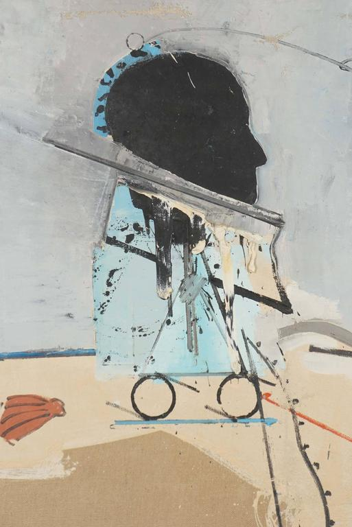 Miguel Condé, Oil on Canvas, Spain, 1970 3