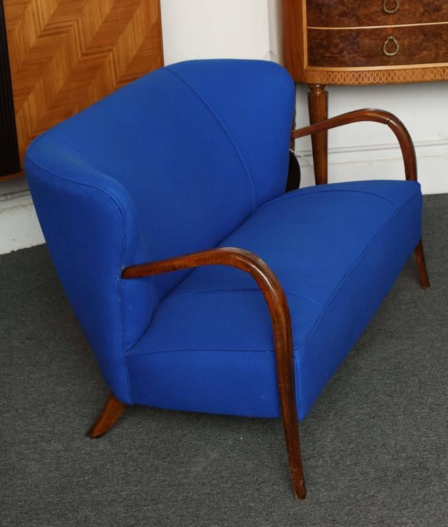 Loveseat Made In Milan, 1950 For Sale At 1stdibs