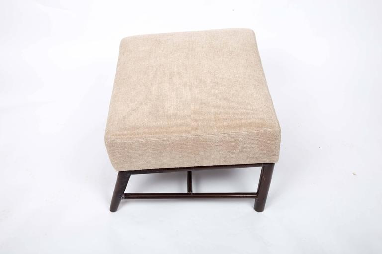 Upholstered Armchair and Ottoman by T. H. Robsjohn-Gibbings For Sale 3