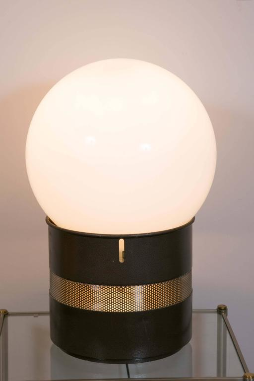 Lacquered One Mezza Oracolo Table Lamp by Gae Aulenti For Sale