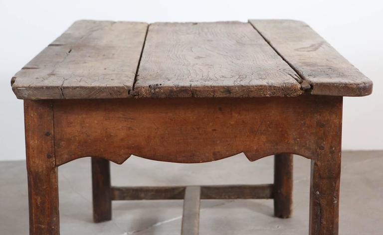 Rustic Primitive French Table For Sale 1