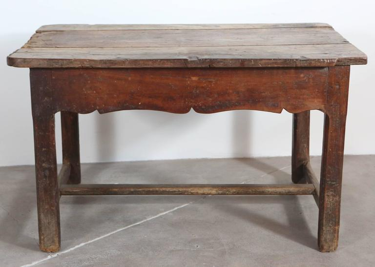 Rustic Primitive French Table For Sale 2