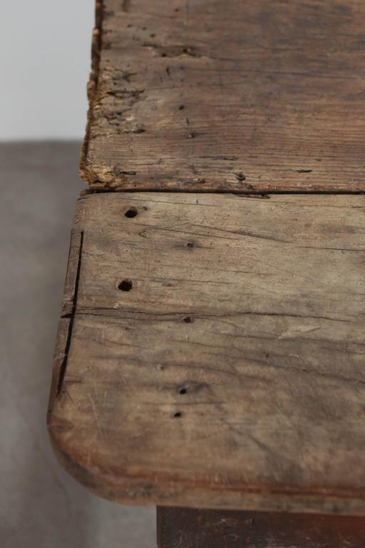 Rustic Primitive French Table For Sale 3