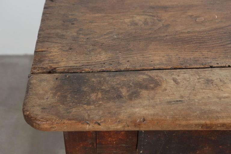 Rustic Primitive French Table For Sale 5