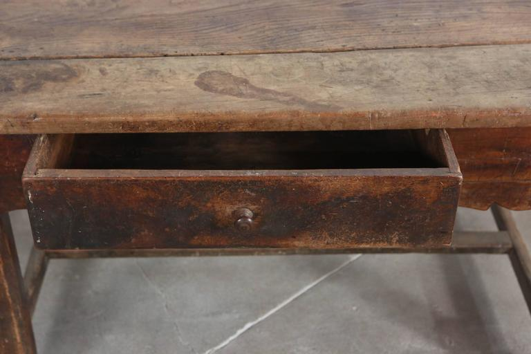 Rustic Primitive French Table For Sale 6