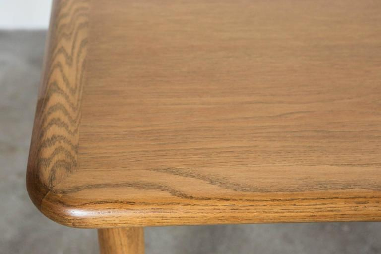 Vintage Oak Dining Table For Sale 1