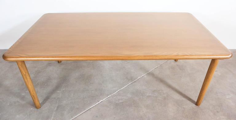Vintage Oak Dining Table For Sale 2