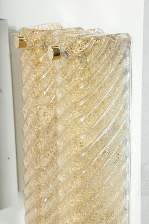 Barovier Murano Glass Rectangular Sconces 6