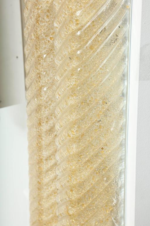 Barovier Murano Glass Rectangular Sconces 7