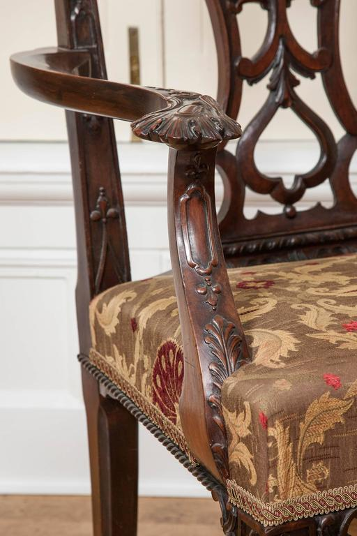 Mahogany Dining Chairs, 19th Century, Set of Ten For Sale 1