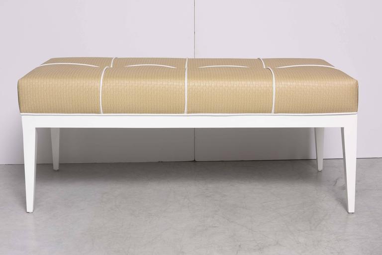 North American Studio-Built Bedroom Bench For Sale
