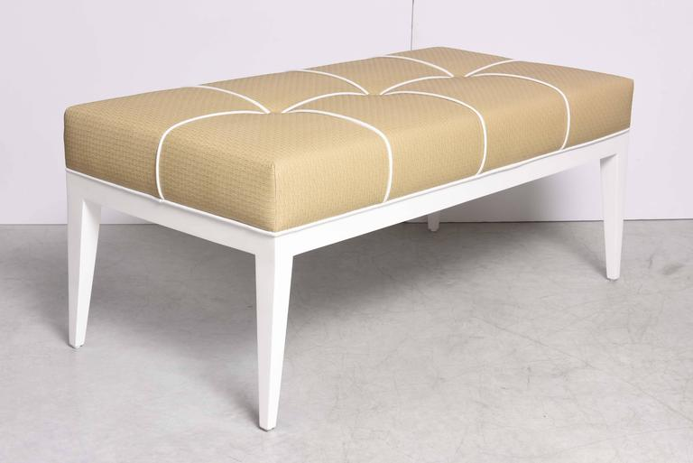 Contemporary SALE! SALE! SALE! Studio-Built Bedroom Bench DESIGNED BY SUSANER beche,white  For Sale