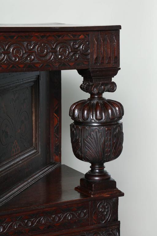 Early 17th Century Elizabethan Court Cupboard