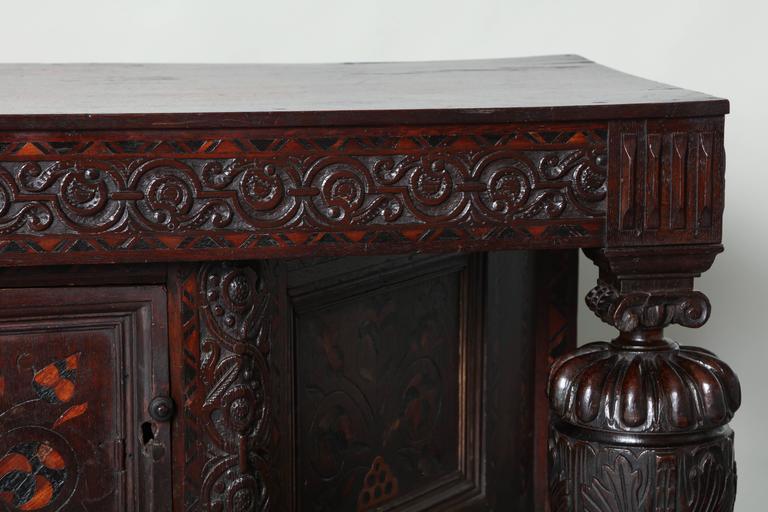 Elizabethan Court Cupboard 1