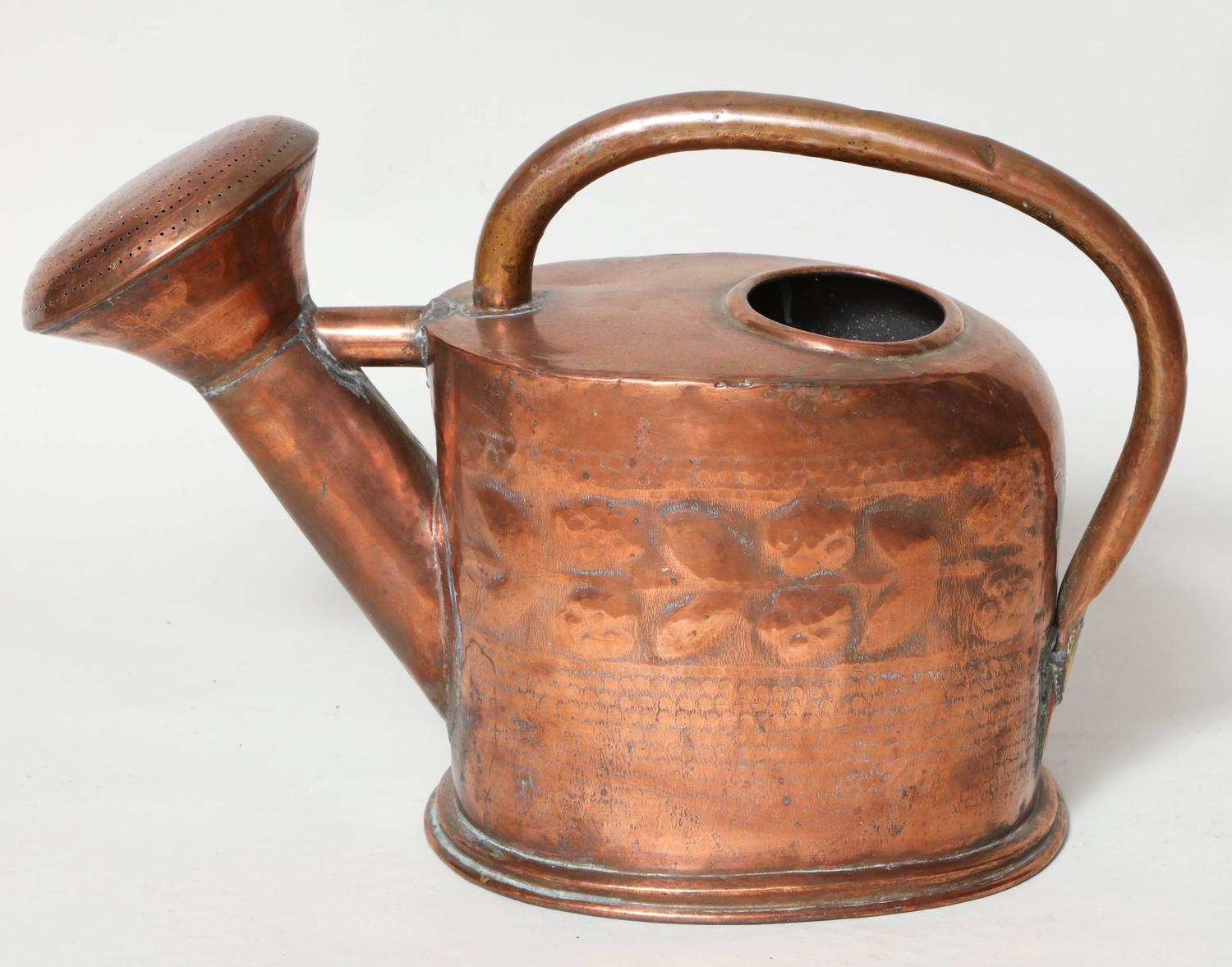 Three Copper Watering Cans For Sale At 1stdibs