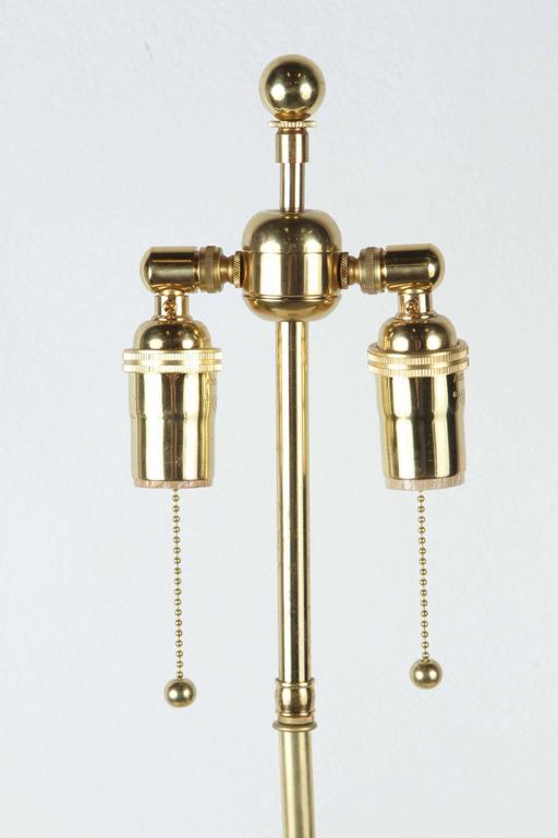 Mid-20th Century Pair of Elegant Ceramic Table Lamps For Sale