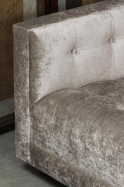 Elegant Biscuit Tufted Sofa at 1stdibs