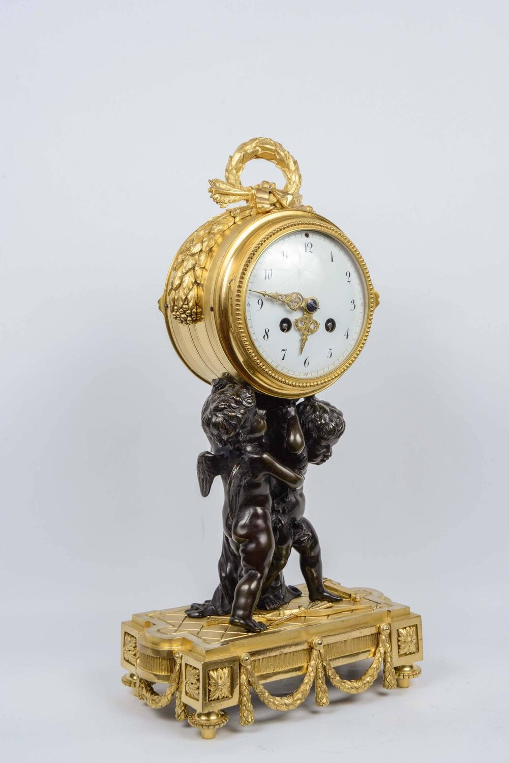 Unusual louis xvi style clock for sale at 1stdibs Unusual clocks for sale