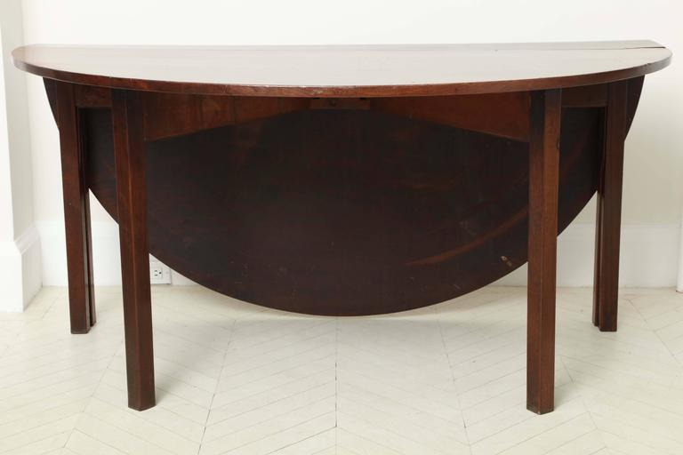 George III Mahogany Dining Table 2