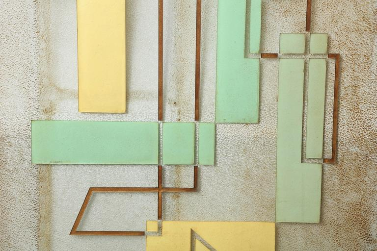 Architectural glass, handpicked by Ann-Morris buyers.