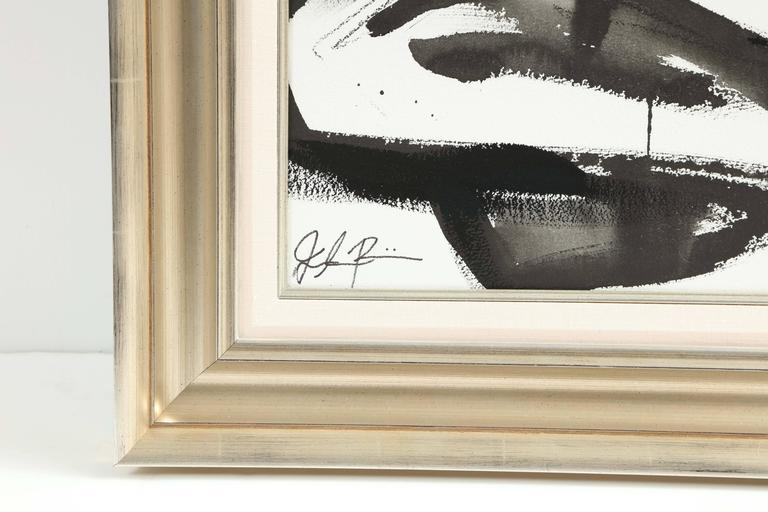Modern Nude Painting by Jenna Snyder-Phillips, No Frame Included, Sumi Ink, USA For Sale