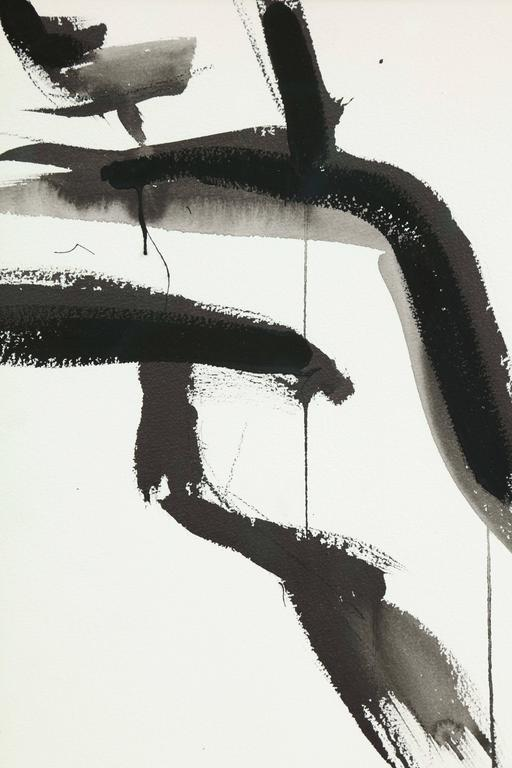 American Nude Painting by Jenna Snyder-Phillips, No Frame Included, Sumi Ink, USA For Sale