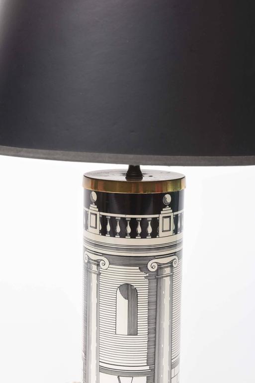 Italian Fornasetti Table Lamps