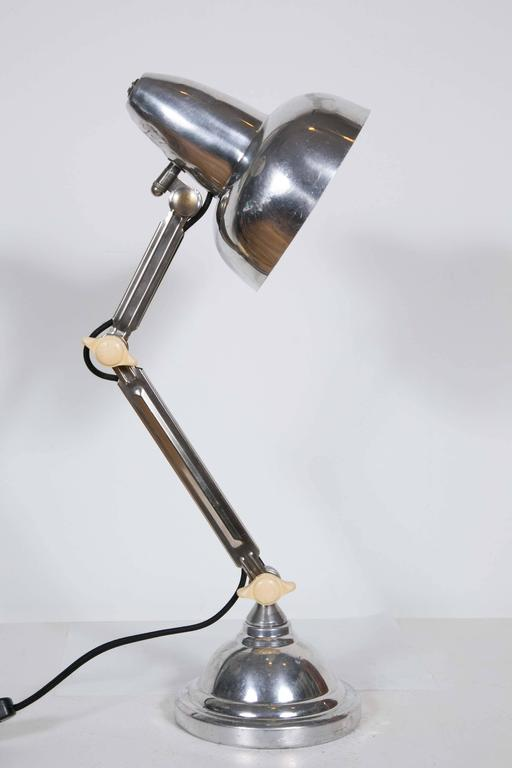 French Art Deco Desk Lamp, 1930s For Sale 1
