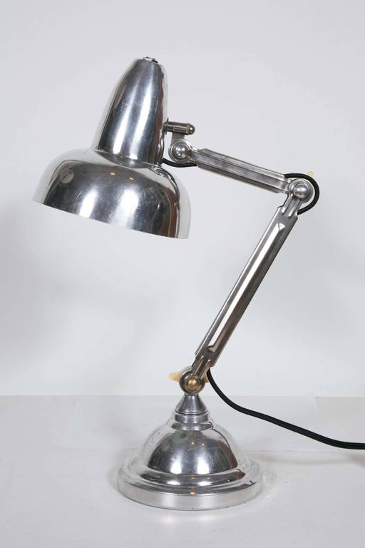 French Art Deco Desk Lamp, 1930s For Sale 2