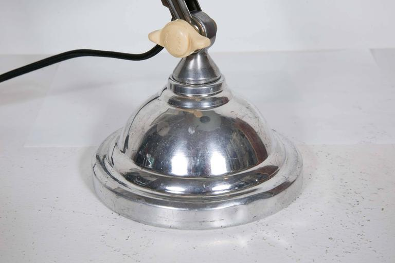 French Art Deco Desk Lamp, 1930s For Sale 3
