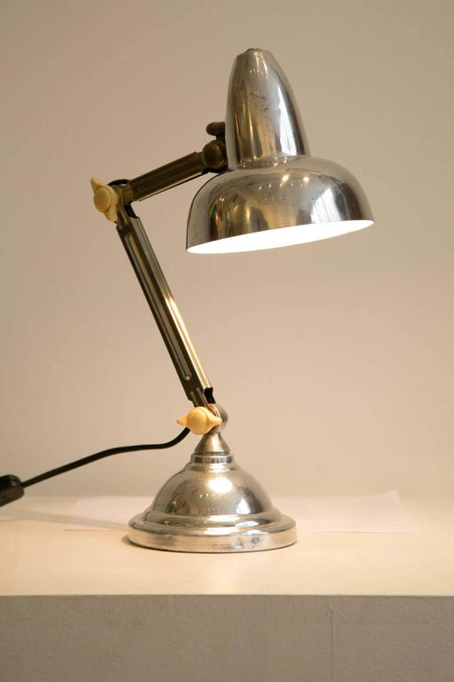 French Art Deco Desk Lamp, 1930s For Sale 5
