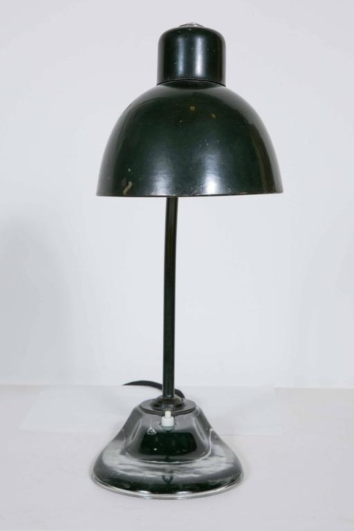 Mid-20th Century Bauhaus Desk Lamp Designed by Marianne Brandt, 1930s For Sale